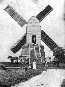 (1) Wrawby Mill c1886
